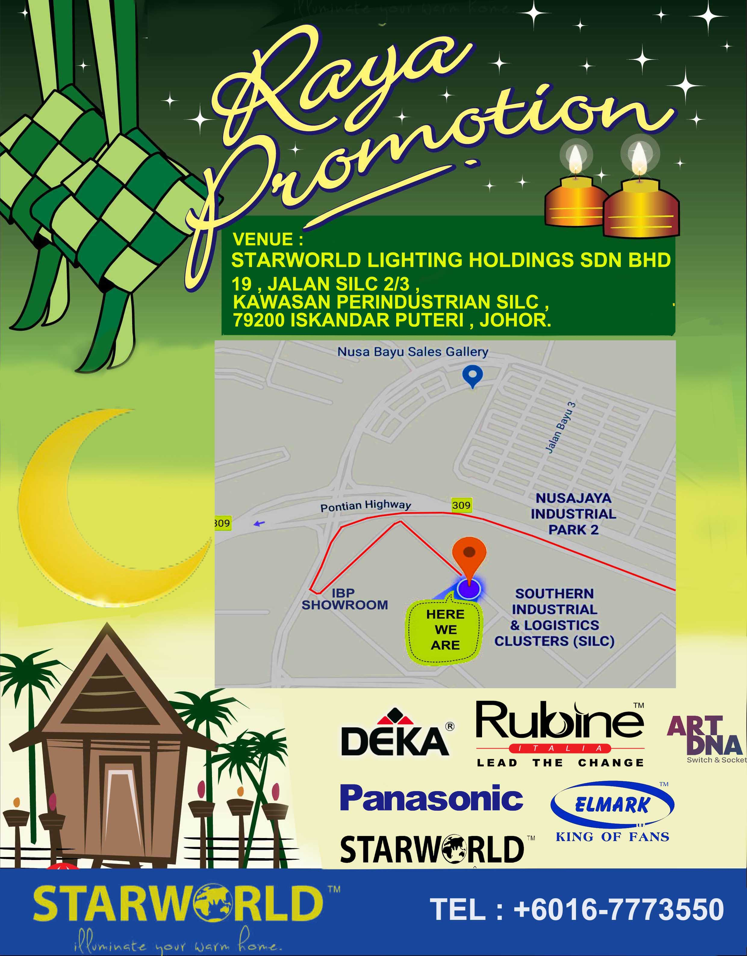 PB 3858 Pok Brothers Raya promotion leaflet 2012_7